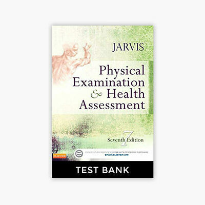 🌟 Physical Examination and Health Assessment 7th Edition Jarvis Test Bank