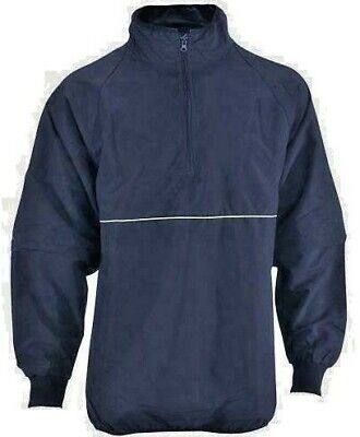 Smitty 323 Navy w/ Red/White Stripes Convertible Umpire Jacket - Closeout Price