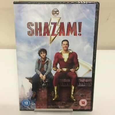 Shazam! DVD - New and Sealed Fast and Free Delivery