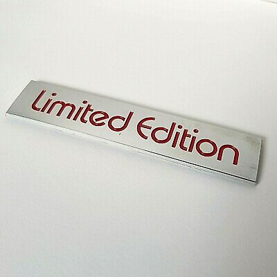 Red Chrome Effect 3D Limited Edition Badge for Citroen C4 C3 Picasso Cactus DS5
