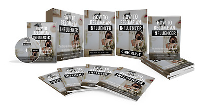 How To Become An Influencer Guide and Video Upgrade! PLR With Resell Rights!