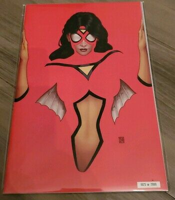 NYCC 2019 Marvel Comics STRIKEFORCE 1 Spider-Woman Variant Fluorescent Cgc Ready