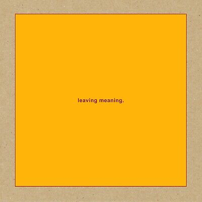 SWANS  leaving meaning  ( Neues Alternative Album 2019 )  2 CD  NEU & OVP 25.10