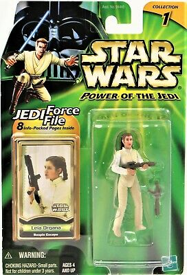 Star Wars Power Of The Jedi Leia Organa Bespin Escape Action Figure New