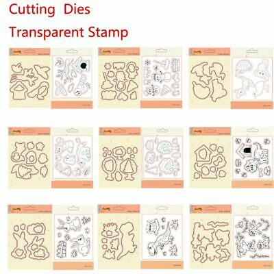 Hot Crafts Rubber DIY Stencils Clear Stamps Cutting Dies Scrapbooking Embossing