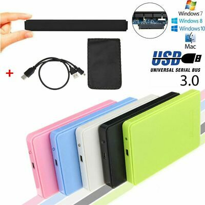 High Speed SATA External Drive 5Gbps 2.5 Inch HDD Enclosure Hard Disk Case SSD