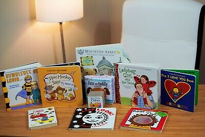 10 Early Learning Children's Board Books, Brand New, Retail Value $70.00