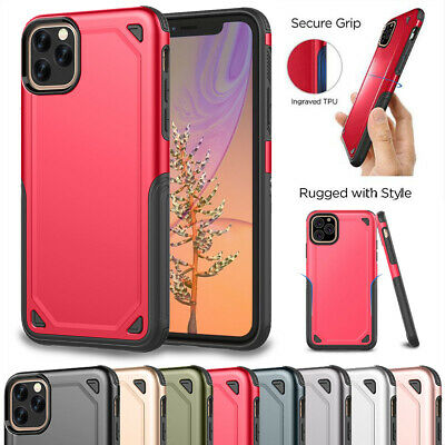 For iPhone 11 Pro Max Xi 2019 Military Armor Case Heavy Duty Shockproof Hybrid