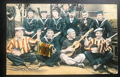 1909 Oxford Canada Picture postcard cover To Halifax Off Fury On Pay Day