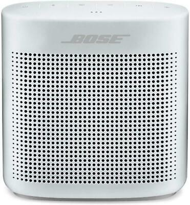 Bose SoundLink Water-Resistant Color Portable Bluetooth Speaker II Polar White