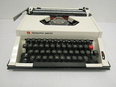 Olympia Olympiette Special Portable Typewriter Cream - BRI S20