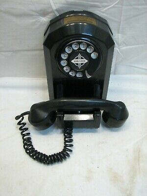 Antique Rotary Dial Telephone North Electric Galion Art Deco Mid-Century Phone