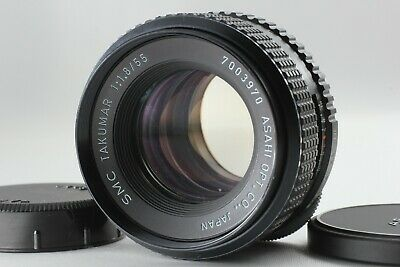 【Excellent +5】 Pentax SMC Takumar 55mm f/1.8 M42 mount MF Lens from Japan