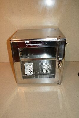 "Fisher Scientific D5 Humidity Ms20003-2 Glass Desiccator Box 12""X10""X12"" (C)"