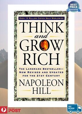 NEW Think and Grow Rich (Bevelled Edge ed) By Napoleon Hill Book Paperback AUS