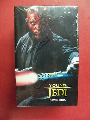 Decipher Star Wars Young Jedi Menace of Darth Maul Factory Sealed Booster Box