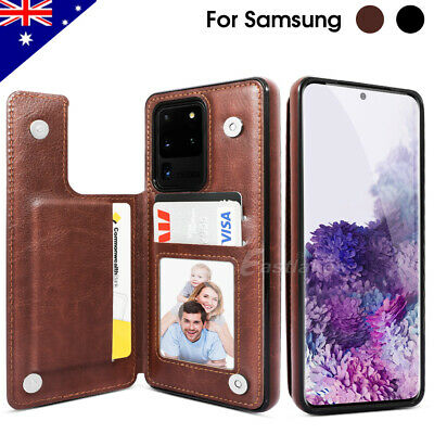 For Samsung Note 10 Plus 10+ 5G  Leather Stand Flip Wallet Case Magnetic Cover