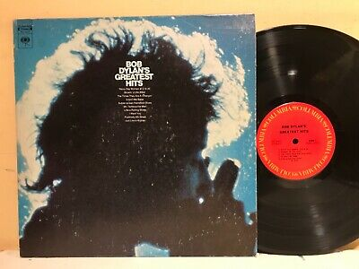 Bob Dylan's Greatest Hits LP Columbia PC-9463 $4 COMBINED SHIP USA ORDERS