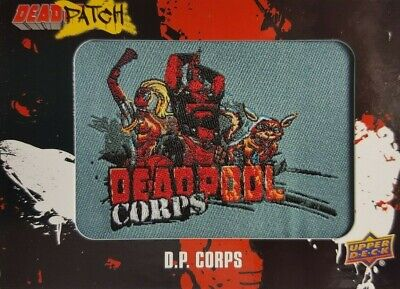 2019 Upper Deck Deadpool Trading Card DEADPATCH DP 4 D.P. CORPS