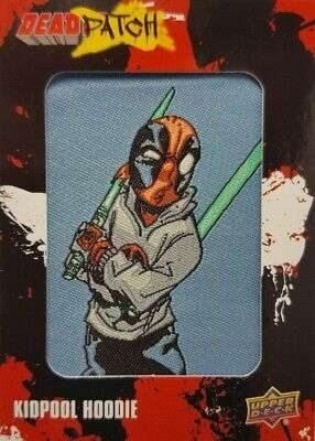 2019 Upper Deck Deadpool Trading Card DEADPATCH DP 13 KIDPOOL HOODIE