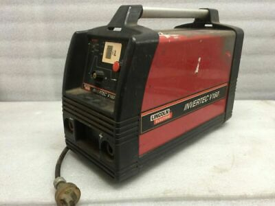Lincoln Electric Invertec V160-S Stick SMAW Welder w Leads - Used