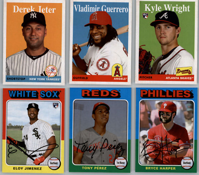 2019 Topps Archives Baseball - Base Set Cards - Choose From Card #'s 1-200