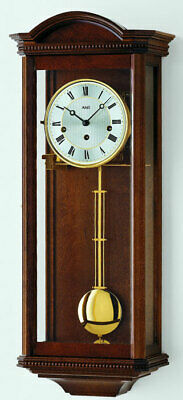 AMS 2663/1 - Wall Clock - Walnut - Pendulum Clock - Regulator Clock - New