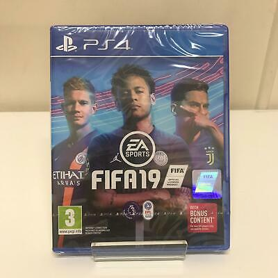 FIFA 19 PS4 Playstation 4 Game - New & Sealed