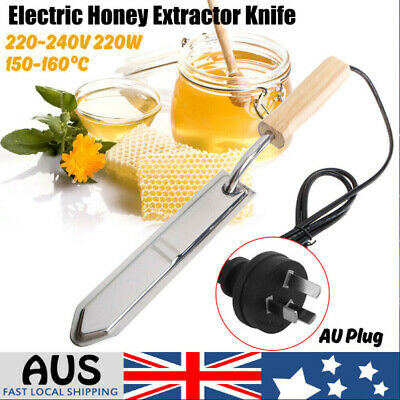 220W Electric Hot Honey Extractor Uncapping Knife Beekeeping Scraper Scraping AU