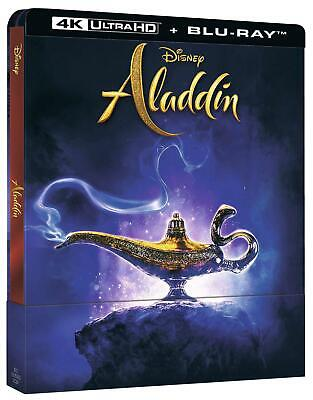 Aladdin  Live Action   Ltd Steelbook   Blu-Ray 4K Ultra
