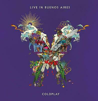 Live in Buenos Aires ColdPlay 2-Disc Audio CD NEW