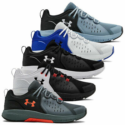 Under Armour Mens 2019 UA Charged Commit TR 2.0 Leather Trainers Training Shoes
