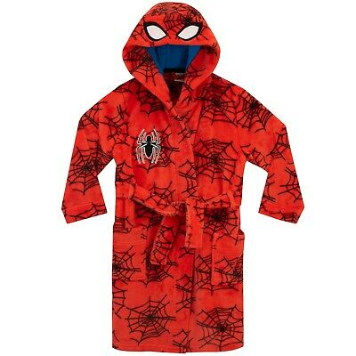 Spider-Man Dressing Gown | Kids Marvel Robe | Spiderman Dressing Gown