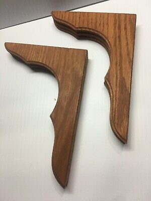 """Solid Cherry Corbels package of 2.     7.5""""x5"""""""