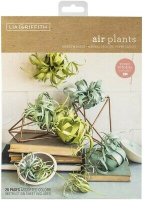 """Airplants - Lia Griffith Paper Stack 8.5""""X11"""" 24/Pkg"""