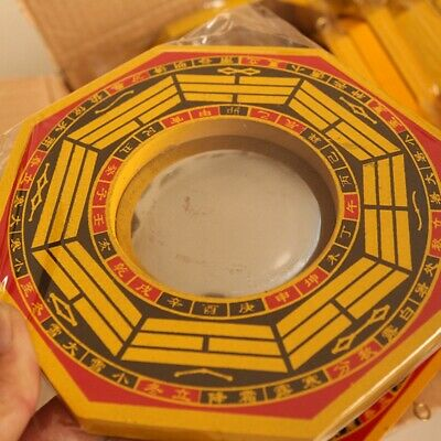 Chinese Lucky Blessing Feng Shui Dent Convex Bagua Mirror House Protection