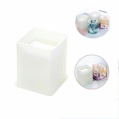 DIY Molds Square Silicone Holder Storage Round Mold Container Resin Pen Epoxy