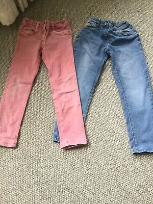 Two Pairs Of Girls Jeans By Next In Size Age 7 Years