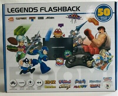 At Games Legends Flashback Boom Console - 50 Built In Games FB8650