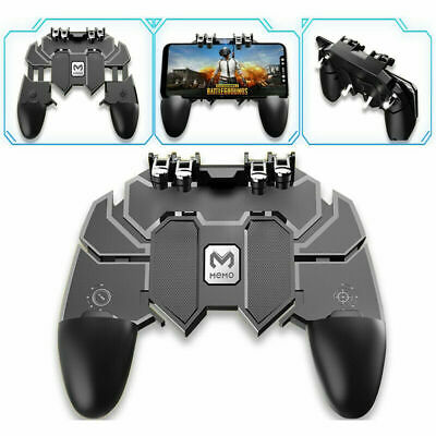 Mobile Phone Game Controller Joystick 6-Finger in 1 Gamepad for PUBG Android IOS