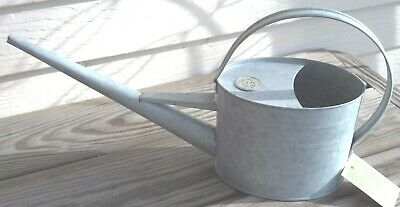 Wonderful Classic Shape Galvanized Steel Metal Watering Can, 1 1/2 Quarts NEW