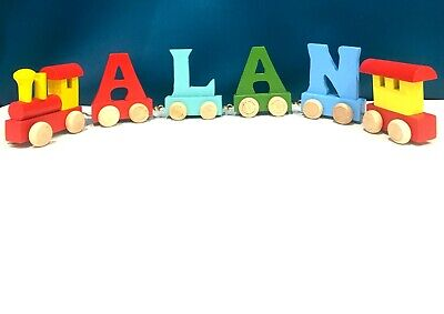 Personalized 26 Letter Alphabet Train ABC Train Floor Puzzles For Birthday Gift