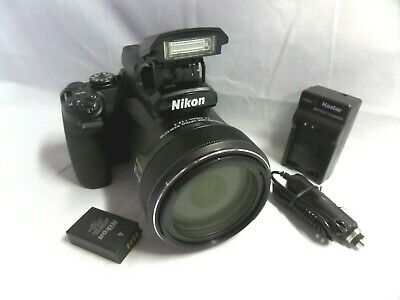 Nikon Coolpix P1000 16MP 4K Digital Camera with 125x Optical Zoom ⭐Near MINT⭐