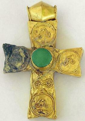 Byzantine empire, 5th / 6th century extremely rare authentic Orthodox gold cross