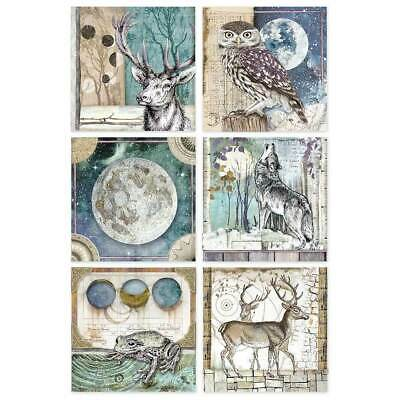 Rice Paper - Decoupage - Stamperia - 1 x A4 Size Sheet - Cosmos cards Gypsy
