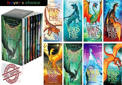 Best Selling Series Wings of Fire: 8 Book Box Set by Tui T. Sutherland Brand New