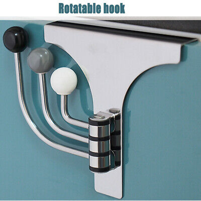 Towel Coat Heavy Duty Stainless Steel Door Wall Mount Hook Hanger Holders