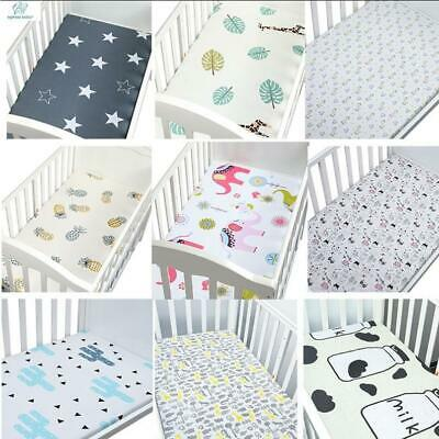 BabyPrem Baby Bedding Fitted Cotton Pram//Cradle Sheets 33 x 17 Pack of 2 Aqua