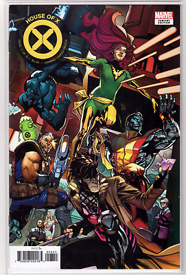 🔥 HOUSE OF X #3 Mahmud Asrar Connecting VARIANT Cover E 1st Printing NM+ 🔥