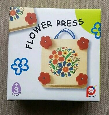 Pintoy Flower Press - Wooden